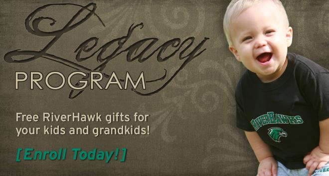 Enroll your child in the RiverHawk Legacy Program!