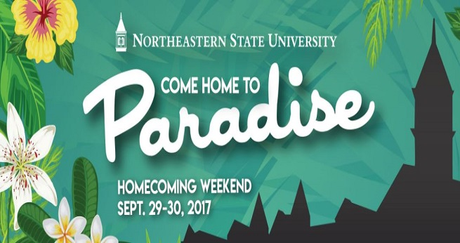 Come Home to Paradise! Homecoming 2017