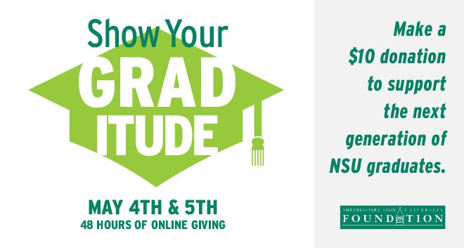 Show your GRADitude May 4 & 5