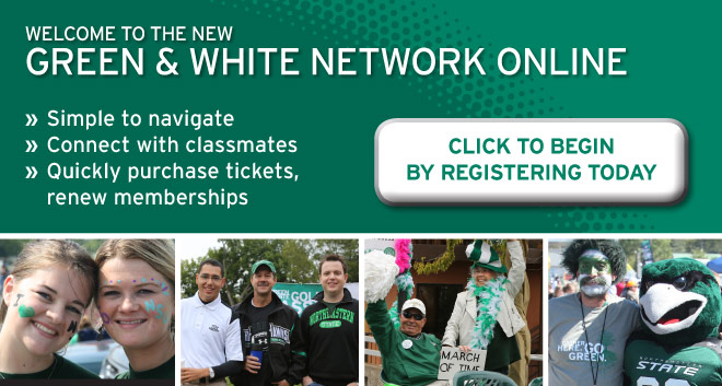Welcome to the New Green & White Network Online!