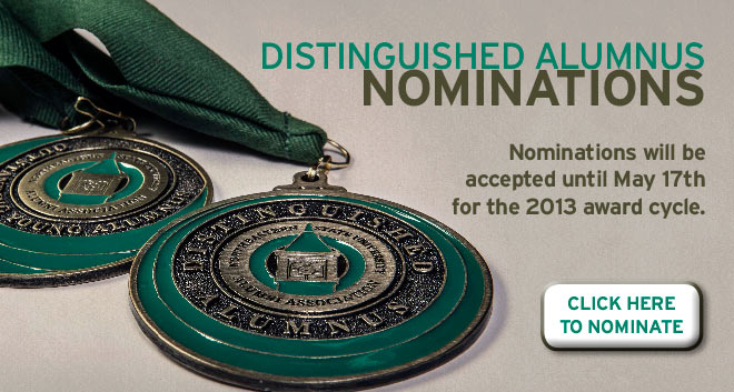 Nominations Being Accepted for 2013 Alumni Honorees